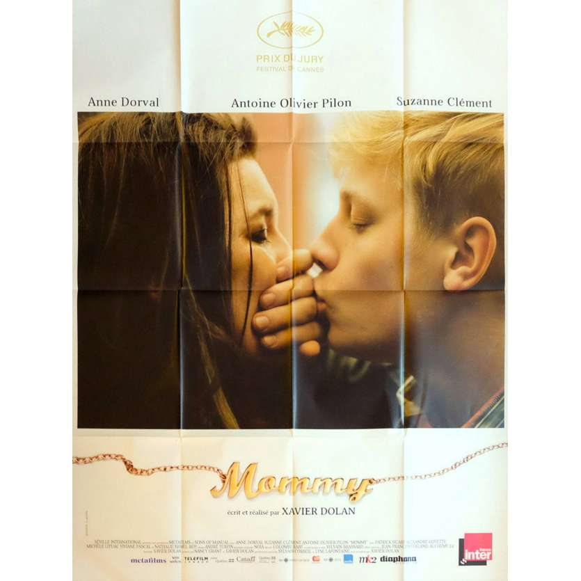MOMMY French Movie Poster 47x63 - 2014 - Xavier Dolan, Anne Dorval