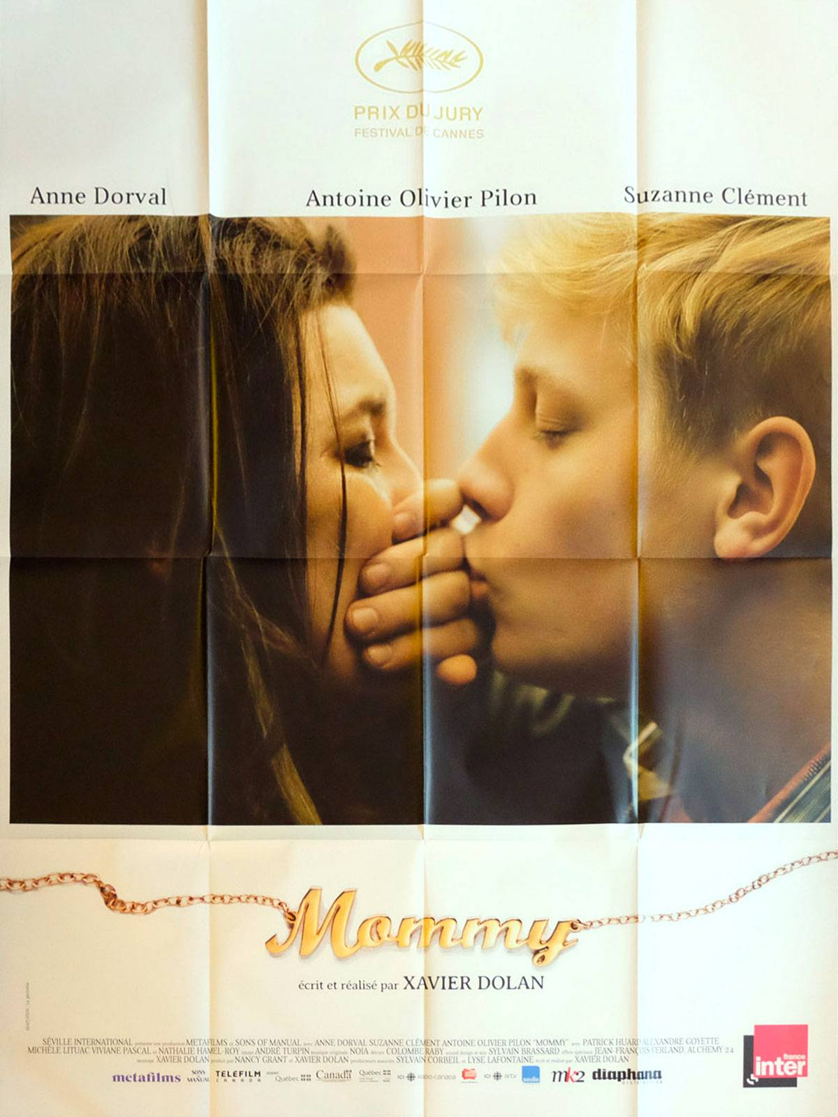 Mommy French Movie Poster 47x63 2014 Xavier Dolan Anne Dorval