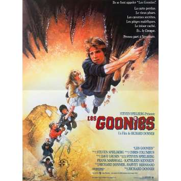 THE GOONIES Original Movie Poster - 15x21 in. - 1985 - Richard Donner, Sean Astin