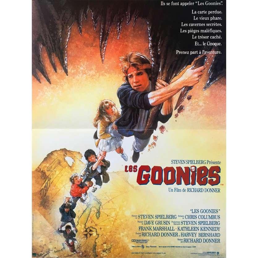 LES GOONIES Affiche de film - 40x60 cm. - 1985 - Sean Astin, Richard Donner