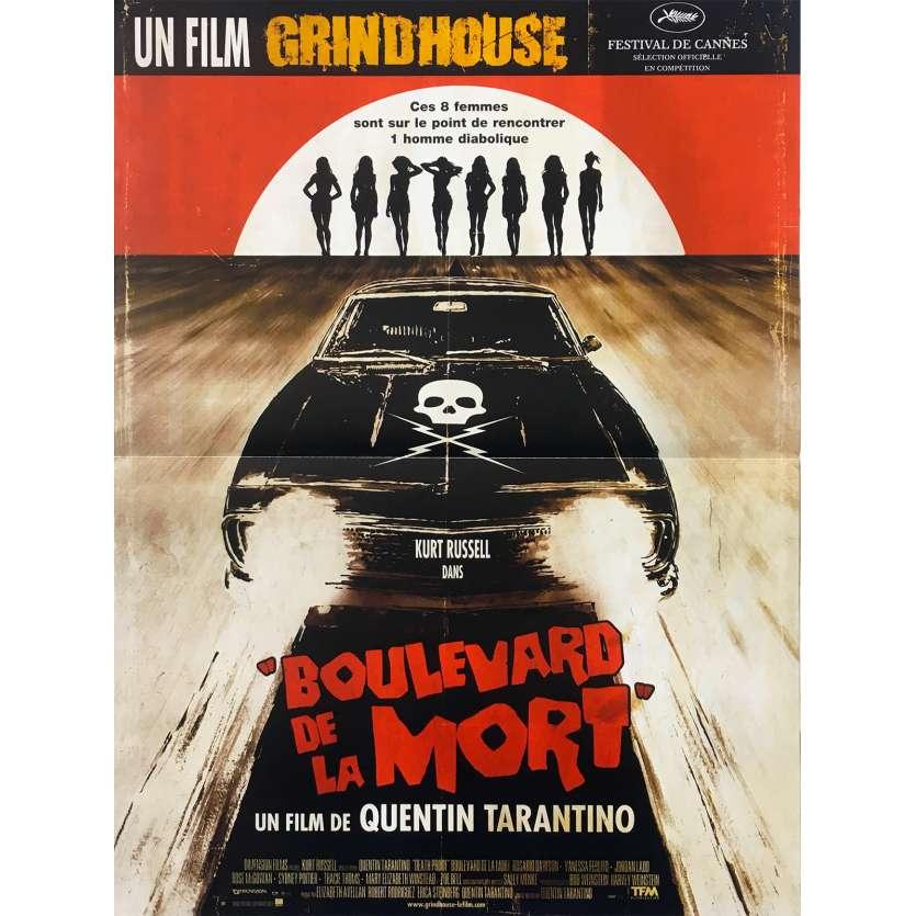 BOULEVARD DE LA MORT Affiche de film - 40x60 cm. - 2007 - Kurt Russel, Quentin Tarantino
