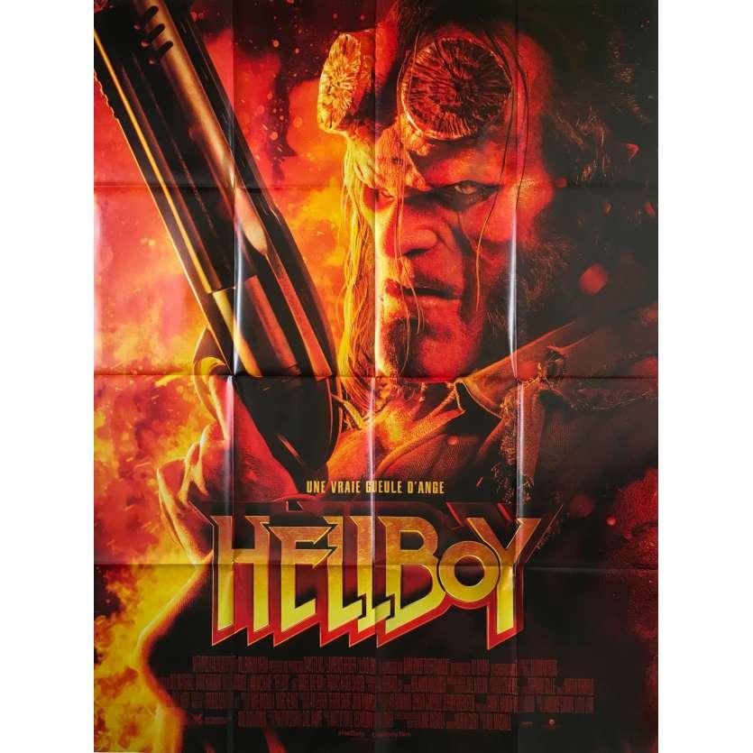 HELLBOY Affiche de film - 120x160 cm. - 2019 - David Harbour, Neil Marshall