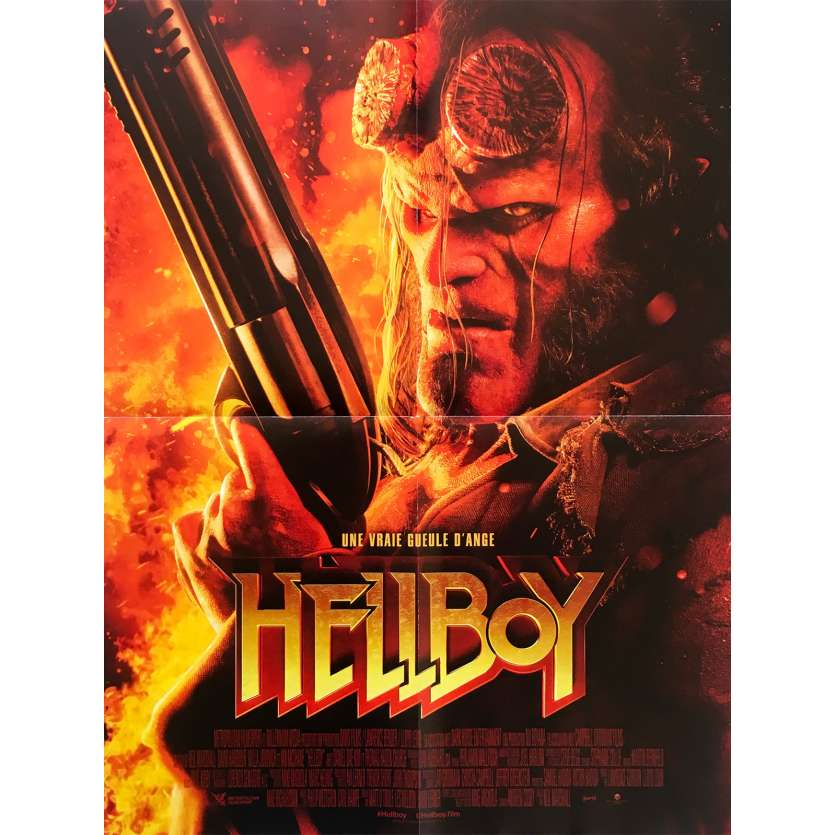 HELLBOY Affiche de film - 40x60 cm. - 2019 - David Harbour, Neil Marshall