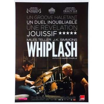 WHIPLASH Original Movie Poster - 15x21 in. - 2015 - Damien Chazelle, Miles Teller