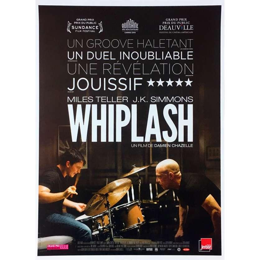 WHIPLASH Affiche de film - 40x60 cm. - 2015 - Miles Teller, Damien Chazelle