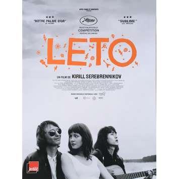 LETO Original Movie Poster - 15x21 in. - 2018 - Kirill Serebrennikov, Teo Yoo
