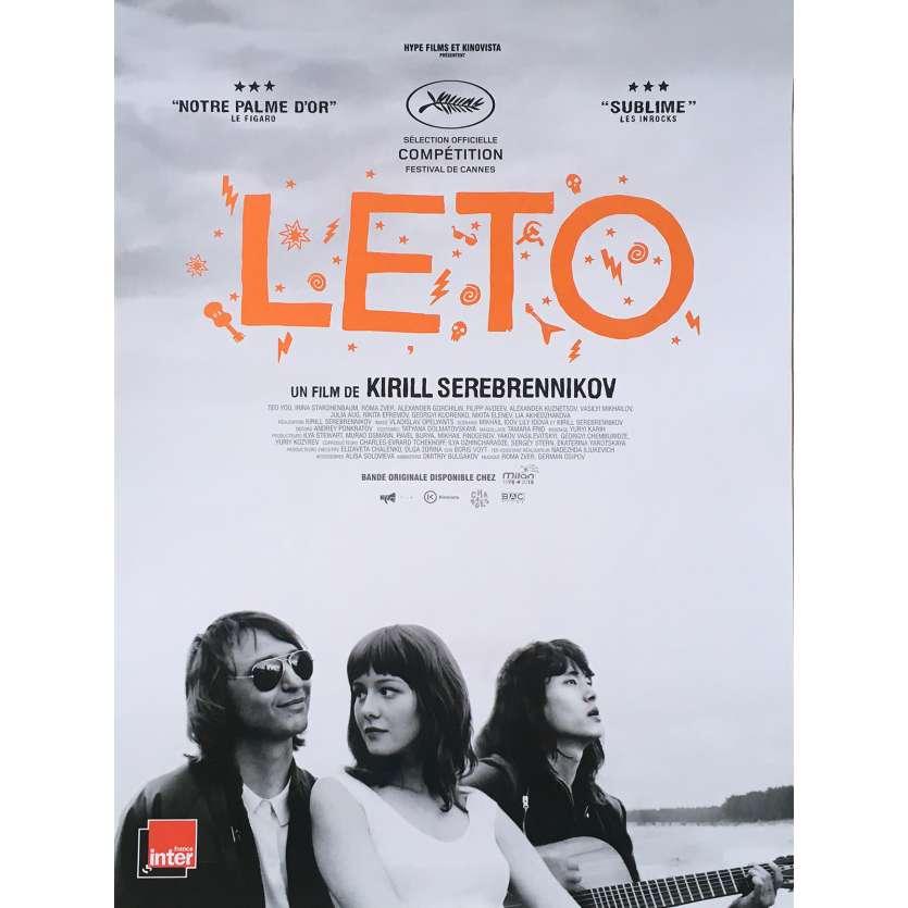 LETO Affiche de film - 40x60 cm. - 2018 - Teo Yoo, Kirill Serebrennikov