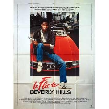 LE FLIC DE BEVERLY HILLS Affiche de film - 120x160 cm. - 1984 - Eddy Murphy, Martin Brest