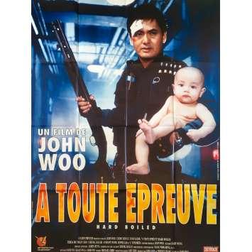 A TOUTE EPREUVE Affiche de film 120x160 - 1992 - Chow Yun-fat , John Woo