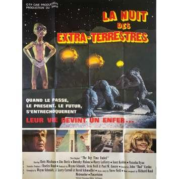 LA NUIT DES EXTRA-TERRESTRES Affiche de film - 120x160 cm. - 1979 - Jim Davis, John Cardos