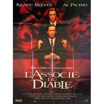 L'ASSOCIE DU DIABLE Affiche de film - 120x160 cm. - 1997 - Keanu Reeves, Al Pacino, Taylor Hackford