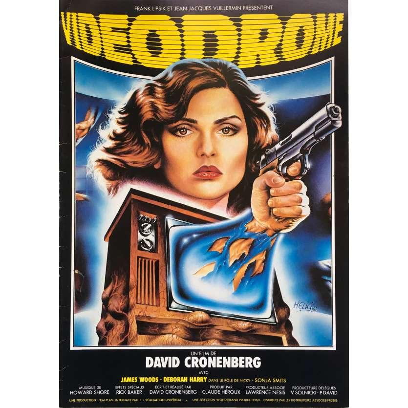 VIDEODROME Synopsis 4p - 21x30 cm. - 1983 - James Woods, David Cronenberg