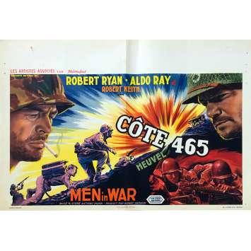 MEN IN WAR Original Movie Poster - 14x21 in. - 1957 - Anthony Mann, Robert Ryan