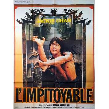 L'IMPITOYABLE Affiche de film - 120x160 cm. - 1976 - Jackie Chan, Chi-Hwa Chen