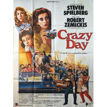 CRAZY DAY Affiche de film - 120x160 cm. - 1978 - Nancy Allen, Robert Zemeckis