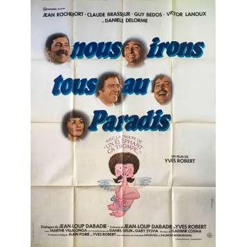 PARDON MON AFFAIRE, TOO! Original Movie Poster - 47x63 in. - 1977 - Yves Robert, Jean Rochefort