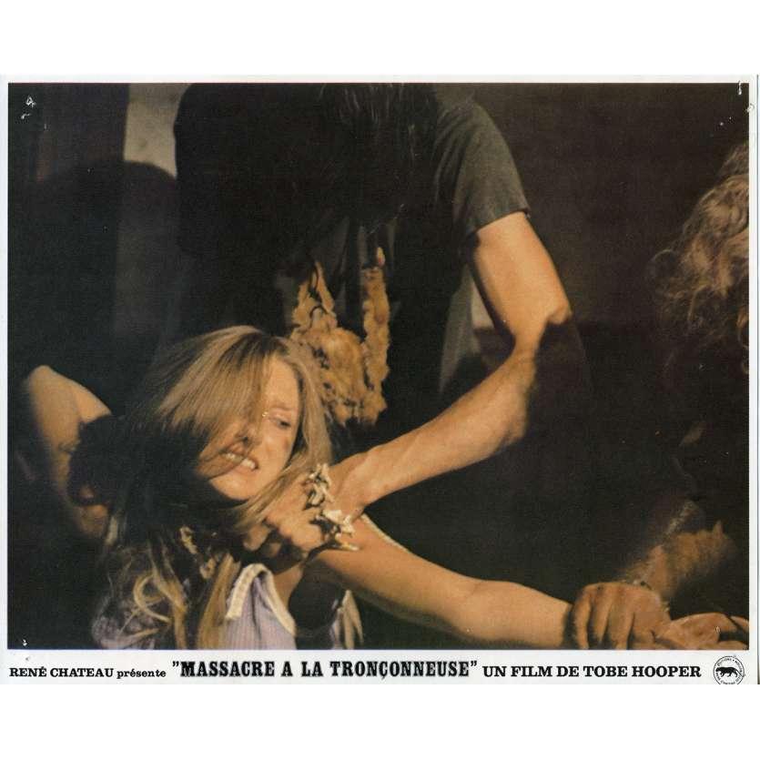 THE TEXAS CHAINSAW MASSACRE Original Lobby Card N01 - 9x12 in. - 1974 - Tobe Hooper, Marilyn Burns
