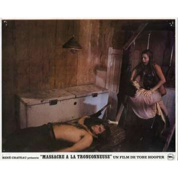 MASSACRE A LA TRONÇONNEUSE Photo de film N10 - 21x30 cm. - 1974 - Marilyn Burns, Tobe Hooper