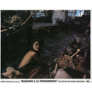 MASSACRE A LA TRONÇONNEUSE Photo de film N04 - 21x30 cm. - 1974 - Marilyn Burns, Tobe Hooper
