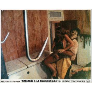 THE TEXAS CHAINSAW MASSACRE Original Lobby Card N05 - 9x12 in. - 1974 - Tobe Hooper, Marilyn Burns