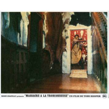MASSACRE A LA TRONÇONNEUSE Photo de film N07 - 21x30 cm. - 1974 - Marilyn Burns, Tobe Hooper