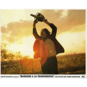 THE TEXAS CHAINSAW MASSACRE Original Lobby Card N08 - 9x12 in. - 1974 - Tobe Hooper, Marilyn Burns