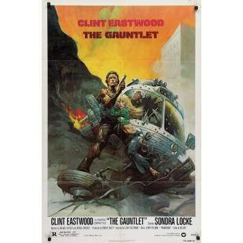 L'EPREUVE DE FORCE Affiche de film - 69x104 cm. - 1977 - Sondra Locke, Clint Eastwood