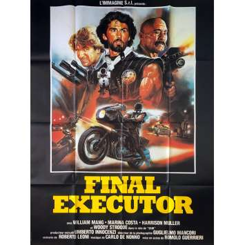 FINAL EXECUTOR Original Movie Poster - 47x63 in. - 1984 - Romolo Guerrieri, William Mang