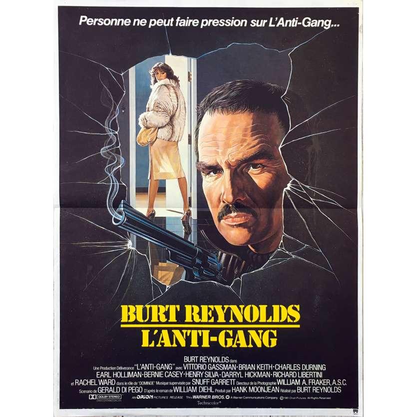 L'ANTI-GANG Affiche de film 40x60 - 1981 - Burt Reynolds