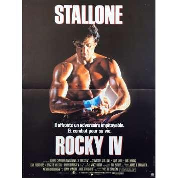 ROCKY 4 French Movie Poster 15x21 - 1985 - Sylvester Stallone, Dolph Lundgren