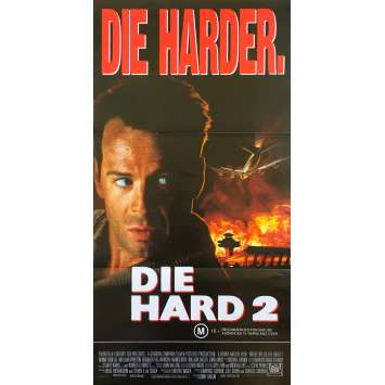 DIE HARD 2 Original Movie Poster - 13x30 in. - 1990 - Renny Harlin, Bruce Willis