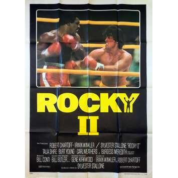 ROCKY II 2 Affiche de film - 100x140 cm. - 1979 - Carl Weathers, Sylvester Stallone