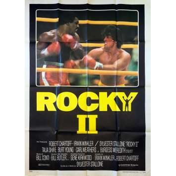 ROCKY II 2 Affiche de film - 100x140 cm. - 1979 - Carl Weathers, Sylvester Stallone