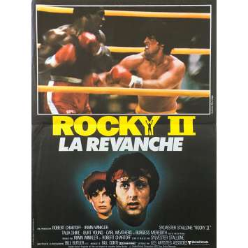 ROCKY II 2 Affiche de film - 40x60 cm. - 1979 - Carl Weathers, Sylvester Stallone