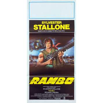 RAMBO - FIRST BLOOD Original Movie Poster - 13x28 in. - 1982 - Ted Kotcheff, Sylvester Stallone
