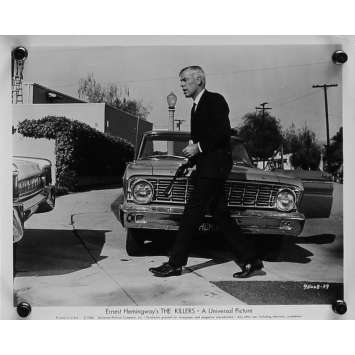 A BOUT PORTANT Photo de presse N06 - 20x25 cm. - 1964 - Lee Marvin, Don Siegel