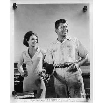 A BOUT PORTANT Photo de presse N02 - 20x25 cm. - 1964 - Lee Marvin, Don Siegel