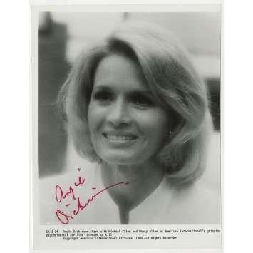 PULSIONS Photo signée - 20x25 cm. - 1980 - Michael Caine, Brian de Palma