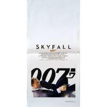 SKYFALL Affiche de film - 33x71 cm. - 2012 - Daniel Craig, James Bond