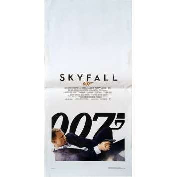 SKYFALL Original Movie Poster - 13x28 in. - 2012 - James Bond, Daniel Craig