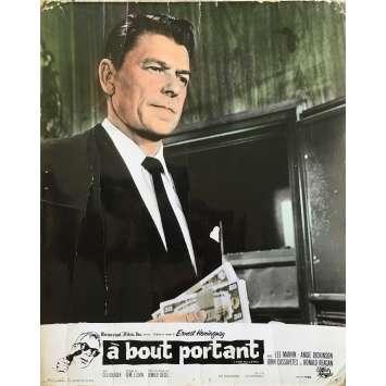 A BOUT PORTANT Photo de film - 24x30 cm. - 1964 - Ronald Reagan, Don Siegel