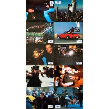 SHAKEDOWN Original Lobby Cards x10 - 9x12 in. - 1988 - James Glickenhaus, Peter Weller, Sam Elliott