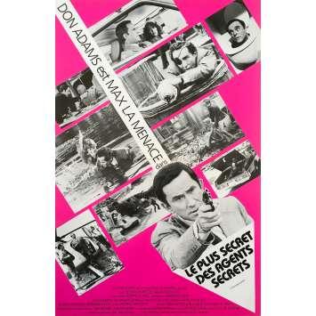 LE PLUS SECRET DES AGENTS SECRETS Synopsis - 21x30 cm. - 1980 - Don Adams, Mel Brooks