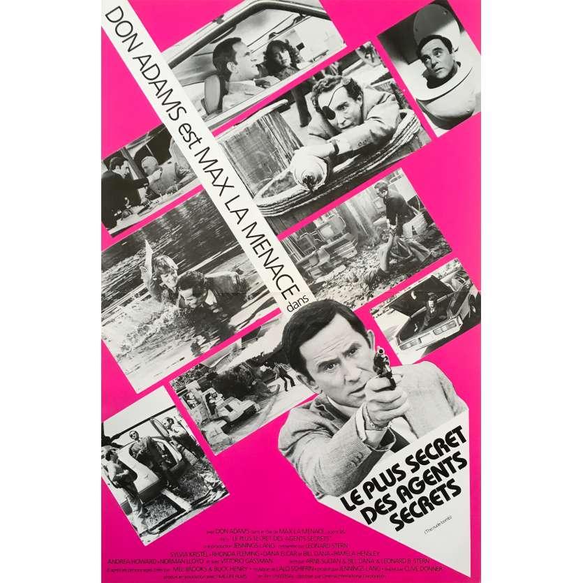 THE NUDE BOMB (GET SMART) Original Herald - 9x12 in. - 1980 - Mel Brooks, Don Adams