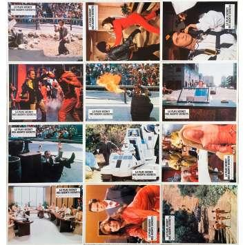 THE NUDE BOMB (GET SMART) Original Lobby Cards x12 - 9x12 in. - 1980 - Mel Brooks, Don Adams
