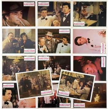 MURDER BY DEATH Original Lobby Cards x14 - 9x12 in. - 1976 - Robert Moore, Peter Sellers, Alec Guiness