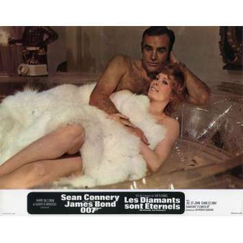 DIAMONDS ARE FOREVER Original Lobby Card N04 - 9x12 in. - 1971 - James Bond, Sean Connery