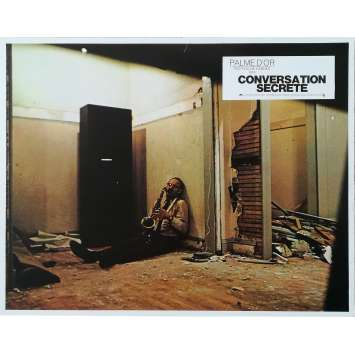 THE CONVERSATION Original Lobby Card N01 - 9x12 in. - 1974 - Francis Ford Coppola, Gene Hackman