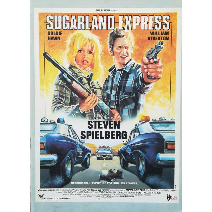 THE SUGARLAND EXPRESS Original Pressbook 16p - 9x12 in. - R1980 - Steven Spielberg, Goldie Hawn