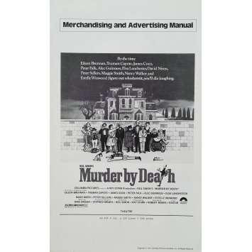 UN CADAVRE AU DESSERT Dossier de presse - 21x30 cm. - 1976 - Peter Sellers, Alec Guiness, Robert Moore
